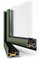 Okna i drzwi aluminiowe z izolacją termiczną