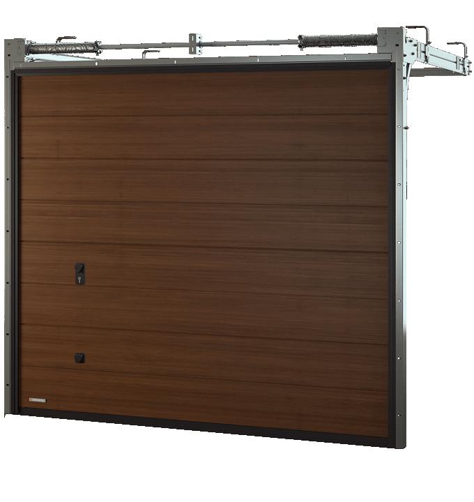 Brama segmentowa Krispol VENTE K2 RS