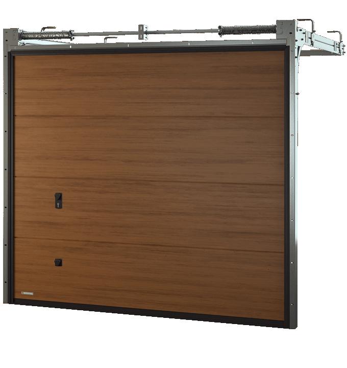 Brama segmentowa Krispol VENTE K2 RF
