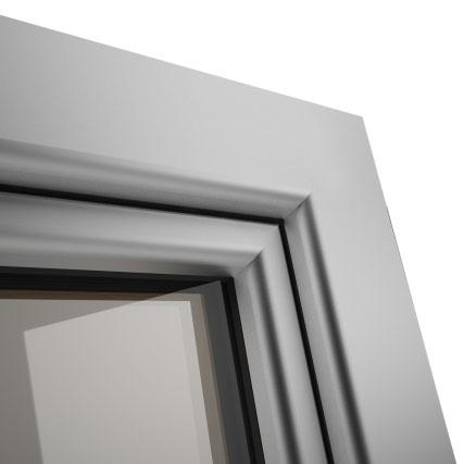 Okno POZBUD GEMINI nakładka aluminiowa Softline
